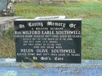 Southwell - Milford Earle and Helen Olive