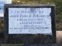 Baldwin - John Enock