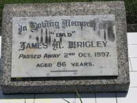 Wrigley - James M