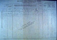 GREGORY Fredericj John - Military Record