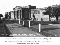 Art Gallery of New South Wales - Constructed by Loveridge and Hudson