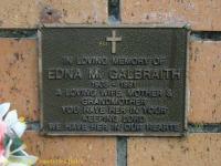 Galbraith - Edna M