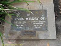 Lyndon - Ellen H and George H