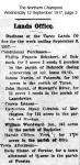 Schubert - Phillip Frances - Conditional purchase of land at Bohnock
