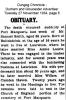 Smith - Samuel - Obituary 1934