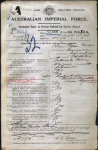 Sloan - William Walter - Military Record