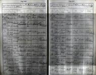 Hall - Hariet - Baptism record