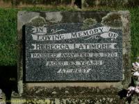 Latimore - Rebecca