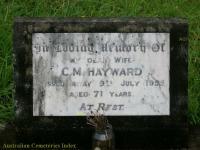 Hayward - C M