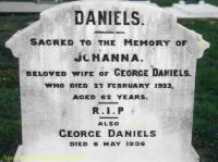 Daniels - Johanna and George