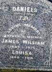 Daniels - James William and Louisa