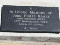 Kratz - John Philip