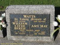 Watts - William Clyde Bertie and Amy May