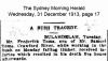 Toms - Frederick - Death Notice
