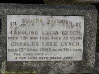 Lynch - Caroline Lydia and Charles Luke