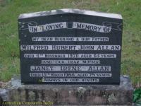 Allan - Wilfred Hubert John and Janet Irene