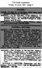 Bonney - William Henry - Death and Funeral Notices