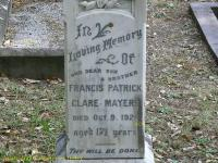 Mayers - Francis Patrick Clare