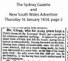 Clegg - John - Death Notice