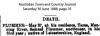 Plummer - Samuel - Death Notice