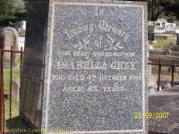 Grey - Isabella