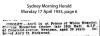 Ongley - Clericus Kesterton - Death Notice