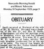 Moylan - M E - Obituary