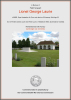 Laurie - Lionel George - Commemorative Certificate