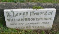 Brokenshire - William
