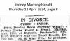 Syron v Syron - Patrick and Edith Dorothy - Divorce