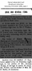 Wilson - Thomas - Death Notice