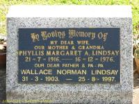 Lindsay - Phyllis Margaret A and Wallace Norman