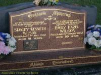 Wilson - Stanley Kenneth and Emily Hazel