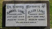 Lang - Samuel and Ellen