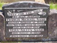 Nash - Francis Michael and Vera Aileen