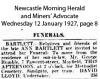 Bartlett - Ann - Funeral Notice