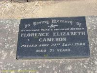 Cameron - Florence Elizabeth