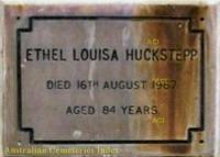 Huckstepp - Ethel Louisa