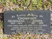 Crowfoot - Georgiana and James