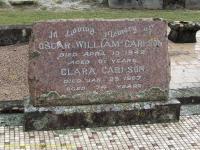Carlson - Oscar William and Clara