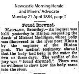 Maddigan - Michael - Inquest