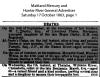 Marsh - Chrisabella - Death Notice