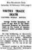 Ramshaw - George Neville - Fatal fall