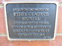 Bignell - Ethel Gladyce