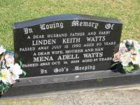 Watts - Linden Keith and Mena Adell