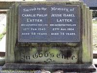 Latter - Charlie Philip and Jessie Isabel