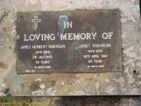 Robinson - James Herbert and Janet