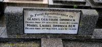 Dimmock - Gladys Gertrude and Mabel Laurel