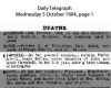 Campbell - Annie - Death Notice