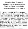 Tisdell - Jessie May - Death Notice